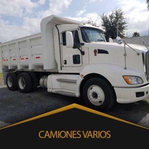 Camiones Varios